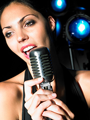 Singing student LSI
