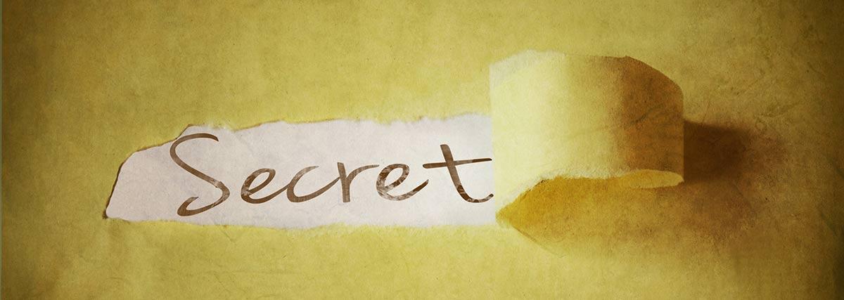 secret unveiling
